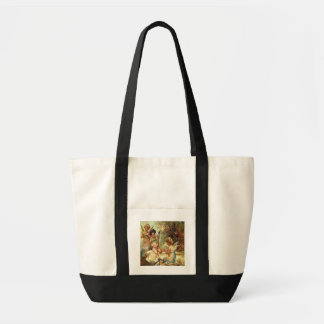 Vintage Musical Cherubs Bag