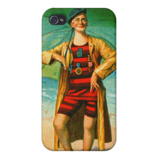 Vintage Musical Comedy Playbill 1906 iPhone 4 Cover