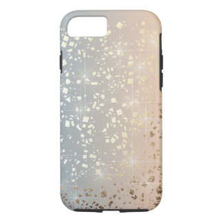 Vintage Muted 1920 Glam Gold Star Foil Sparkle iPhone 8/7 Case
