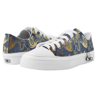 Vintage Mythology Fantasy Dragon Wallpaper Low Tops