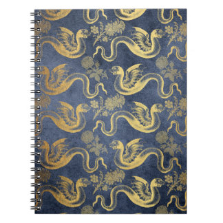 Vintage Mythology Fantasy Dragon Wallpaper Notebooks