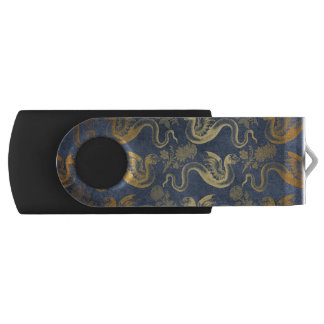 Vintage Mythology Fantasy Dragon Wallpaper USB Flash Drive