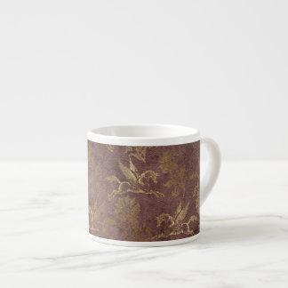 Vintage Mythology Fantasy Pegasus Wallpaper Espresso Cup