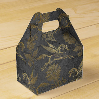 Vintage Mythology Fantasy Pegasus Wallpaper Favour Box