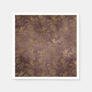 Vintage Mythology Fantasy Pegasus Wallpaper Paper Napkins