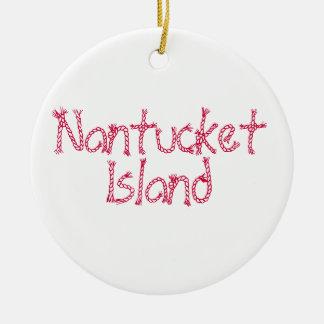 Vintage Nantucket Island Christmas Tree Ornaments