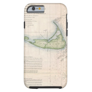 Vintage Nantucket map iPhone 6 case