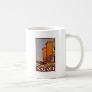Vintage Napoli Travel Coffee Mug