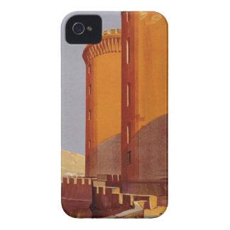 Vintage Napoli Travel iPhone 4 Case