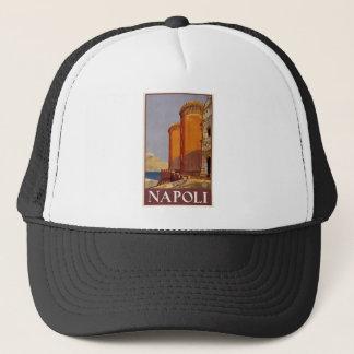 Vintage Napoli Travel Trucker Hat