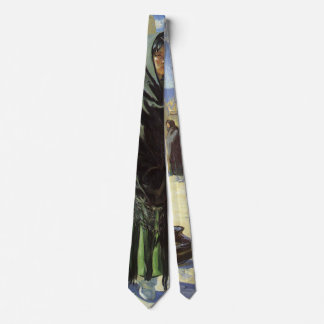 Vintage Native American, Taos Girls by Walter Ufer Tie