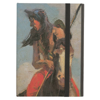 Vintage Native Americans, Crow Outlier by Dunton iPad Air Cases