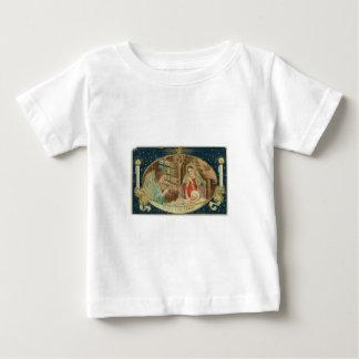 VINTAGE NATIVITY SCENE BABY T-Shirt