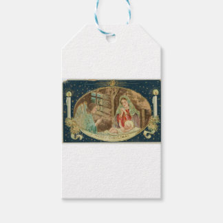 VINTAGE NATIVITY SCENE GIFT TAGS