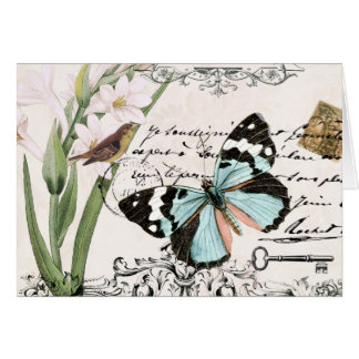 Vintage Nature's Beauty...notecard Card