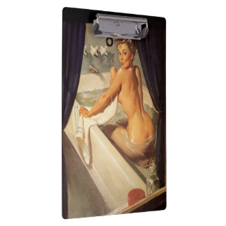 Vintage Naughty Dirty Pin-up Clipboard