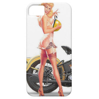 Vintage Naughty Sexie Pin Up Girl iPhone 5 Case