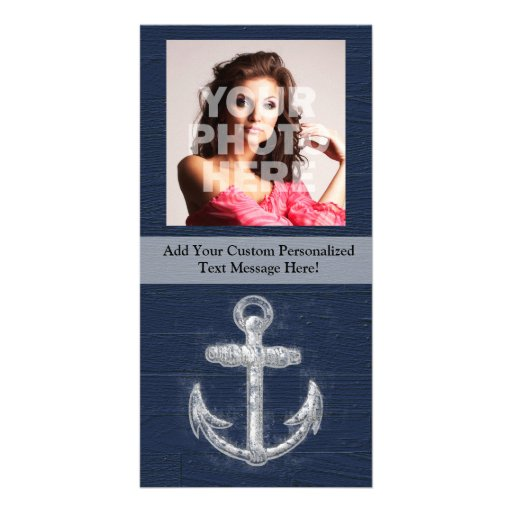 Vintage Nautical Anchor Photo Card