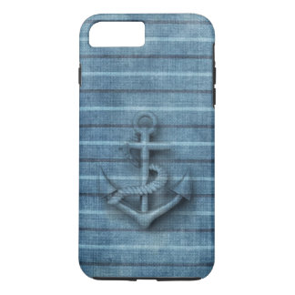 Vintage nautical classy anchor iPhone 8 plus/7 plus case