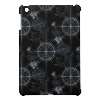 Vintage nautical compass dials dark blue pattern iPad mini covers