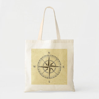 Vintage Nautical Compass Ivory