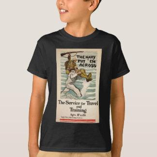 Vintage Navy T-Shirt