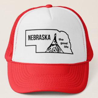Vintage Nebraska Good Life Mudflap Hat