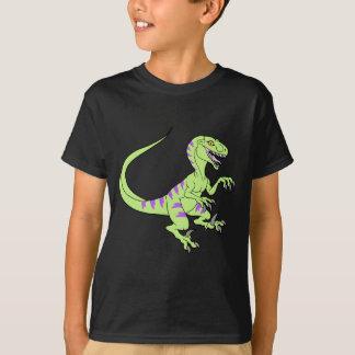 Vintage neon velociraptor green T-Shirt