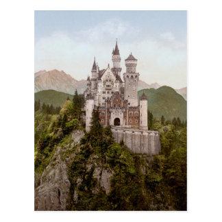 Vintage Neuschwanstein Bayern Postcard