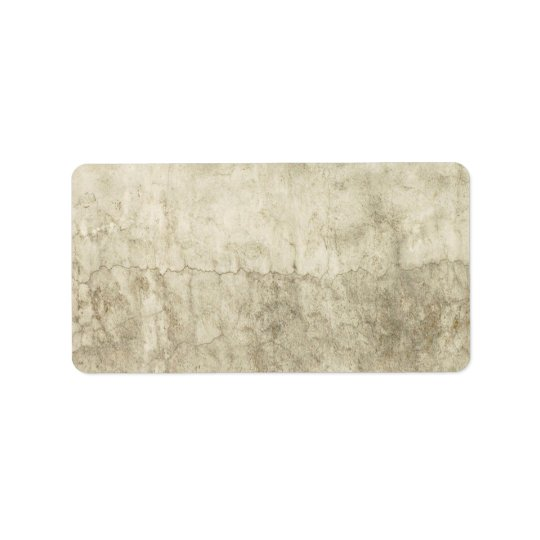 Vintage Neutral Plaster Paint Background Grunge Label
