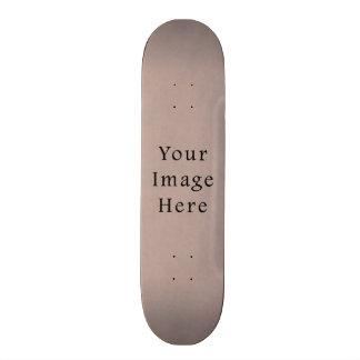 Vintage Neutral Purple Lavender Parchment Paper Skate Board Decks