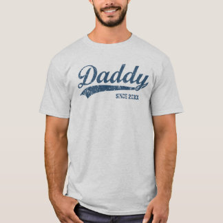 Vintage New Daddy Since [year] T-Shirt