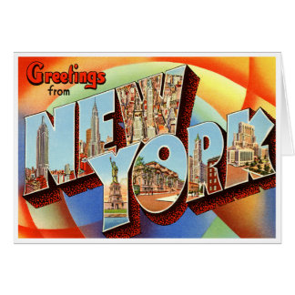 Vintage New York Card