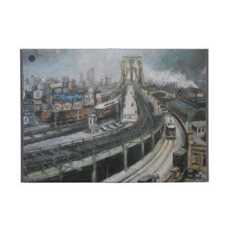 Vintage New York City Brooklyn Bridge Painting iPad Mini Case