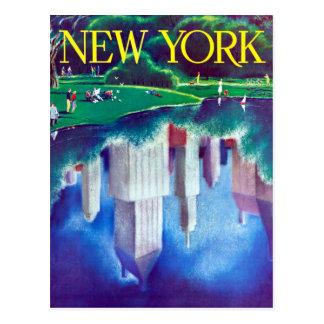 Vintage New York City Central Park Travel Postcard