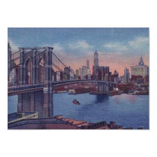 Vintage New York City Invitation