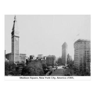 Vintage New York City, Madison Square 1904 Postcard