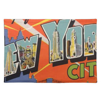 Vintage New York City Placemat