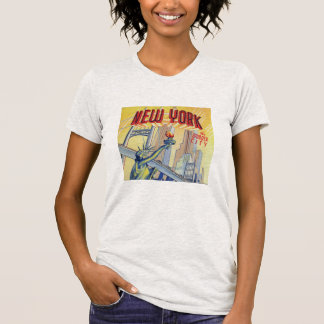 Vintage New York City Postcard Shirt