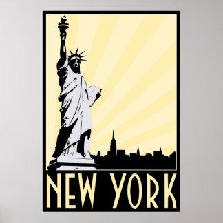 Vintage New York City Poster