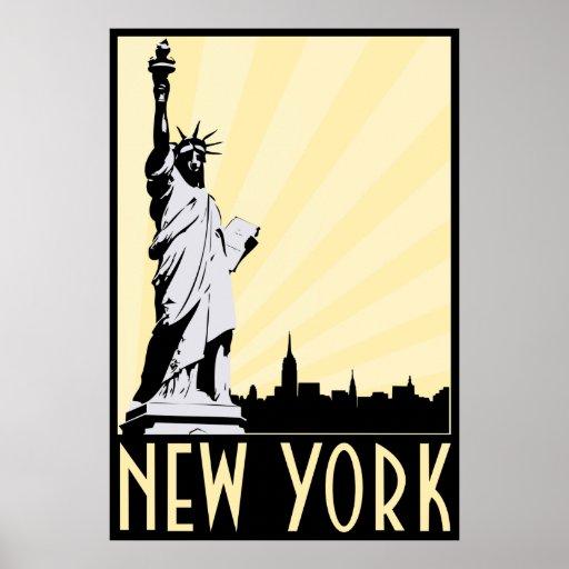 Vintage New York City Print