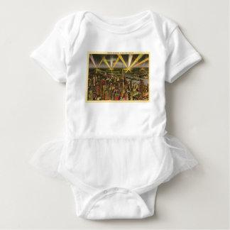 Vintage New York City Skyline Baby Bodysuit