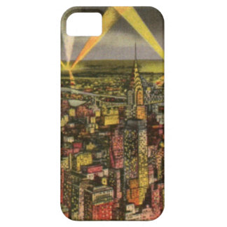 Vintage New York City Skyline Barely There iPhone 5 Case