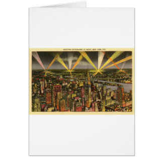 Vintage New York City Skyline Card