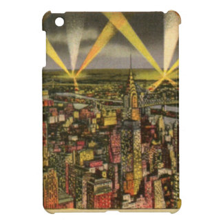 Vintage New York City Skyline iPad Mini Cover