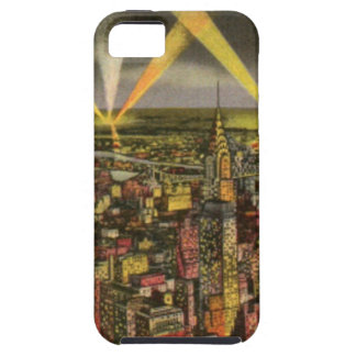 Vintage New York City Skyline Tough iPhone 5 Case
