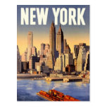 Vintage New York City, USA - Post Card