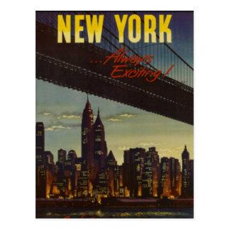 Vintage New York City, USA - Postcard
