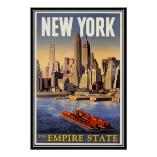 Vintage New York City USA - Posters