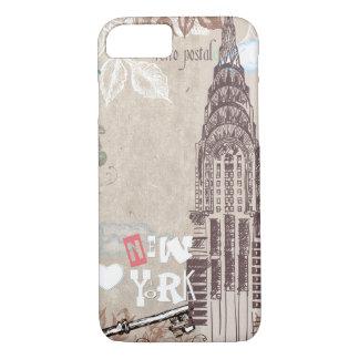 Vintage New York Design iPhone 7 Case